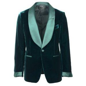 Tom Ford Shelton Green Tuxedo Jacket